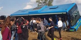 incidente bus scuola
