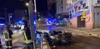genova incidente auto