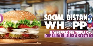 social distancing whopper burger_king non è la radio